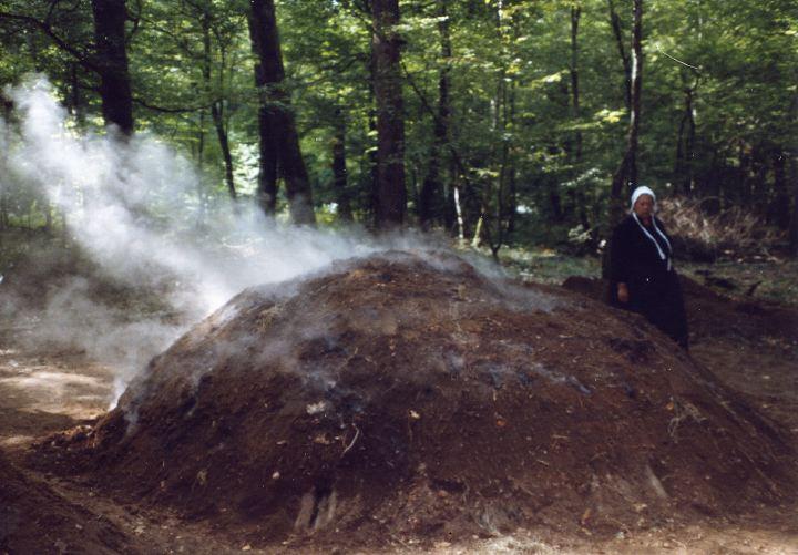moissey com le charbon de bois dans la for u00eat de la Serre, par Jér u00f4me Corneglio et Clément  # Fabrication Du Charbon De Bois